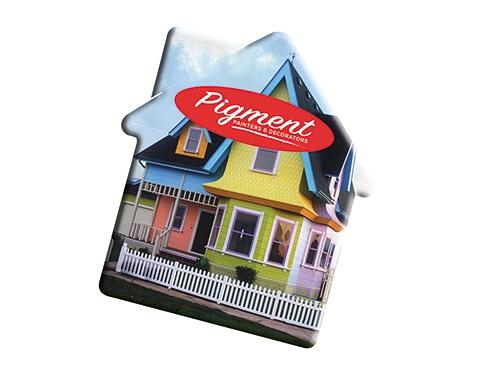 ColourBrite House Shaped Mint Card