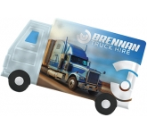 ColourBrite Lorry Shaped Mint Card  by Gopromotional - we get your brand noticed!