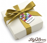 Lily O'Brien's Chocolate Box - 4 Chocolates  by Gopromotional - we get your brand noticed!