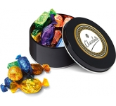 Christmas Black Treat Tins - Quality Street