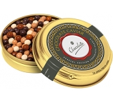 Christmas Gold Caviar Treat Tins - Special Edition Chocolate Pearls  by Gopromotional - we get your brand noticed!