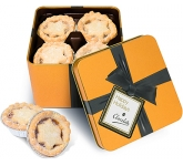 Christmas Gold Share Tins - Mince Pies  by Gopromotional - we get your brand noticed!