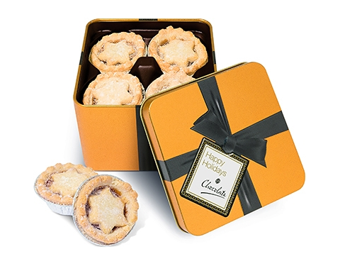 Christmas Gold Share Tins - Mince Pies