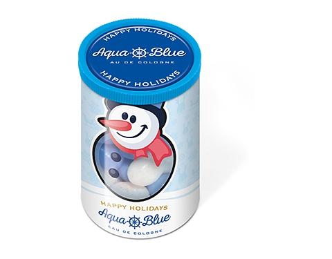 Christmas Mini Sweet Tubes - Snowman Gourmet Jelly Beans