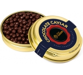 Gold Caviar Treat Tins - Dark Chocolate Pearls