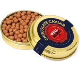 Gold Caviar Treat Tins - Salted Caramel Chocolate Pearls  by Gopromotional - we get your brand noticed!