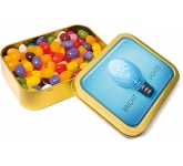 Gold Sweet Tins - Gourmet Jelly Beans