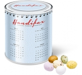 Large Sweet Paint Tins - Speckled Chocolate Eggs