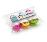 Large Sweet Pouches - Foil Wrapped Chocolate Eggs  by Gopromotional - we get your brand noticed!