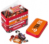 London Bus Sweet Tins - Celebration  by Gopromotional - we get your brand noticed!