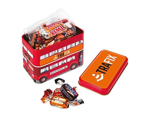 London Bus Sweet Tins - Celebration