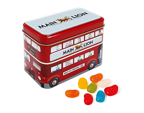 London Bus Sweet Tins - Jelly Beans