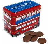London Bus Sweet Tins - Milk Chocolate Buttons