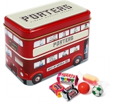 London Bus Sweet Tins - Retro
