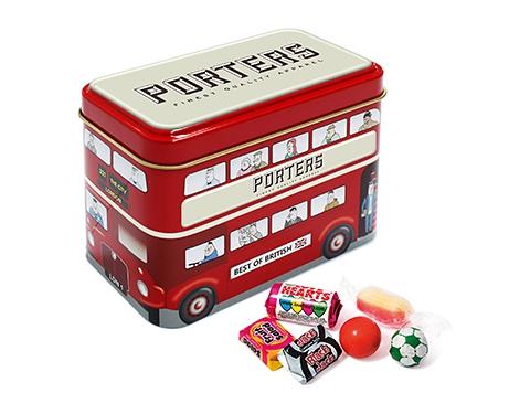 London Bus Sweet Tins - Retro