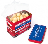 London Bus Sweet Tins - White Chocolate Malt Balls
