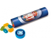 Maxi Clear Sweet Tubes - Jelly Beans