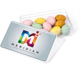 Maxi Rectangular Sweet Pots - Speckled Chocolate Eggs  by Gopromotional - we get your brand noticed!