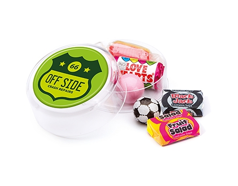Maxi Round Sweet Pots - Retro Sweet