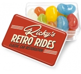 Midi Rectangular Sweet Pots - Jelly Beans  by Gopromotional - we get your brand noticed!