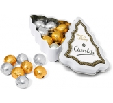 Mini Christmas Tree Foil Wrapped Chocolate Balls  by Gopromotional - we get your brand noticed!
