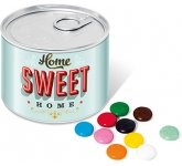 Mini Ring Pull Sweet Tins - Chocolate Beanies