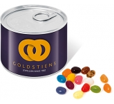 Mini Ring Pull Sweet Tins - Gourmet Jelly Beans