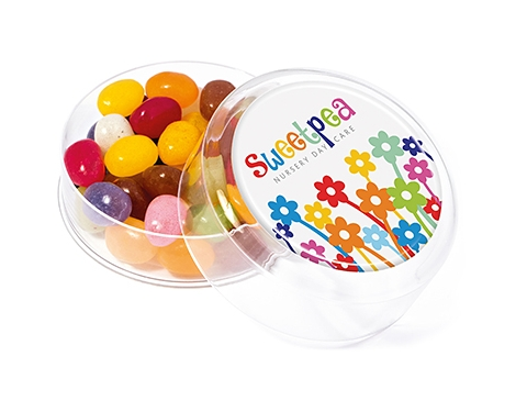 Maxi Round Sweet Pots - Gourmet Jelly Beans