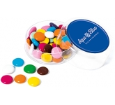 Maxi Round Sweet Pots - Chocolate Beanies  by Gopromotional - we get your brand noticed!