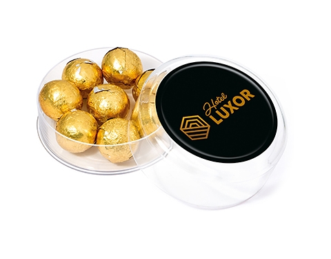 Maxi Round Sweet Pots - Foil Wrapped Chocolate Balls