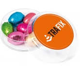 Maxi Round Sweet Pots - Foil Wrapped Chocolate Eggs  by Gopromotional - we get your brand noticed!