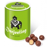 Money Box Sweet Tins - Milk Chocolate Malt Balls  by Gopromotional - we get your brand noticed!