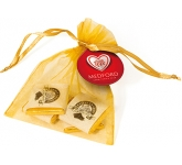 Organza Bags - Neapolitan Chocolates  by Gopromotional - we get your brand noticed!