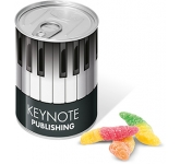 Ring Pull Sweet Tins - Worm  by Gopromotional - we get your brand noticed!