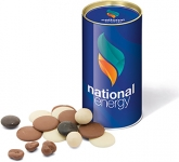 Snack Tubes - Chocolate Solar  by Gopromotional - we get your brand noticed!