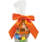 Swing Tag Sweet Bags - Chocolate Beanies  by Gopromotional - we get your brand noticed!