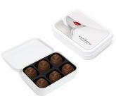 White Sweet Tins - Salted Chocolate Caramel Swirls