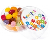 Maxi Round Sweet Pots - Printed Jelly Beans