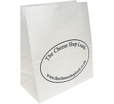 Cocoa 12 x 16 Pharmacy Paper Bag  by Gopromotional - we get your brand noticed!