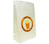 Cocoa 6 x 12 Pharmacy Paper Bag  by Gopromotional - we get your brand noticed!