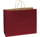Holly A3 Coloured Twist Handled Kraft Paper Bag