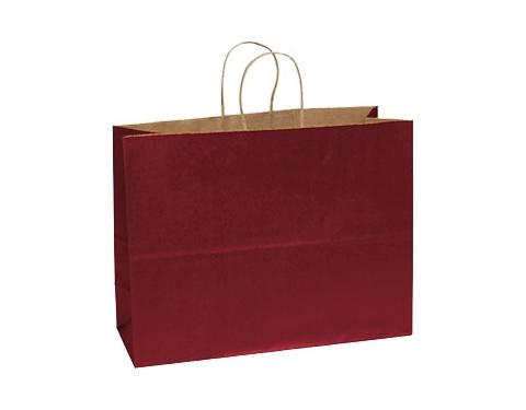 Holly A3 Coloured Twist Handled Kraft Paper Bag