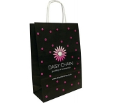 Holly A4 Twist Handled Kraft Paper Bag  by Gopromotional - we get your brand noticed!
