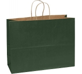 Holly Large Exhibition Coloured Twist Handled Kraft Paper Bag