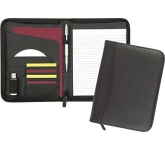 Wessex A5 Zipped Conference Folder  by Gopromotional - we get your brand noticed!