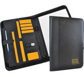 Lancashire Zipped Tablet Conference Folder