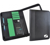 Rutland Zipped Calculator Conference Folder
