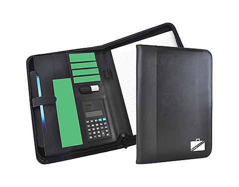 Rutland Zipped Calculator Conference Folder