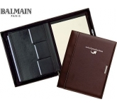 Balmain Millau Zipped Conference Folder  by Gopromotional - we get your brand noticed!