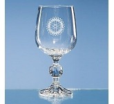 Claudia Lead Crystal Wine Glass